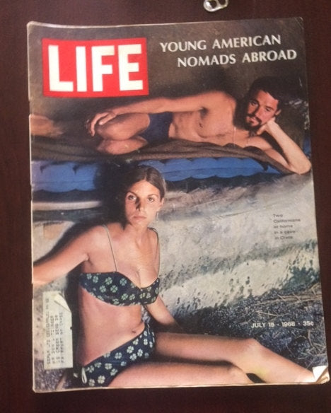 July 18, 1968 LIFE Magazine, Young American Nomads Abroad