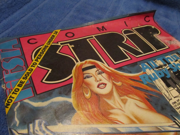 ADULT Comic Book, Comic Strip, created printed in England, FREE Shipping