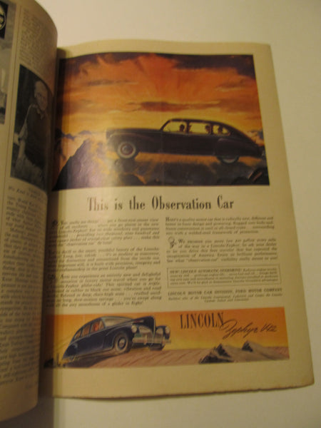 Time Magazine, March 31, 1941, Military, World War II, History, 1940's Classic Car Advertisements, Paper Ephemera, Memories, FREEshipping
