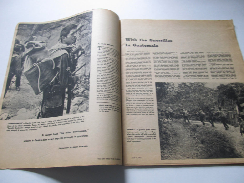 The New York Times Magazine, 1960's, Large Magazines, June 26, 1966