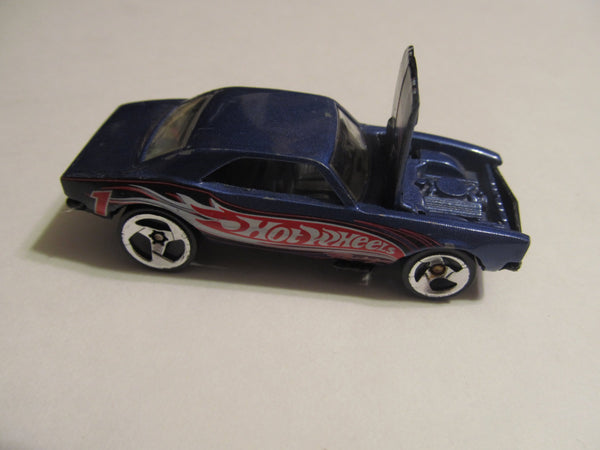 1967 Chevrolet Camaro, Blue, Mattel, Hot Wheels, diecast, model cars, classic cars, vintage toys, collectibles, FREE Shipping