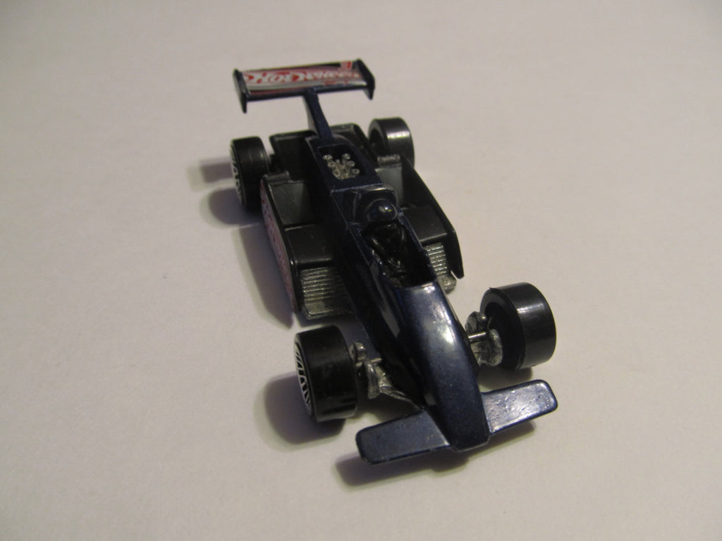 RACE CAR, blue, indy, Hot Wheels, diecast, model cars, classic cars, vintage toys, collectibles