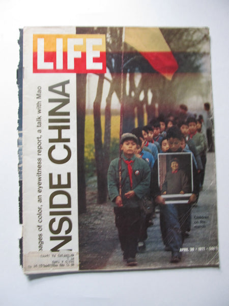 Inside China, LIFE Magazine, April 31, 1971