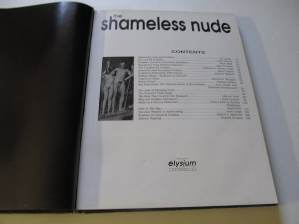 ADULT the Shameless Nude, Welcome to the Joys of Nude Living, a book on nudity, educational Books, nudity, nudism, free shipping