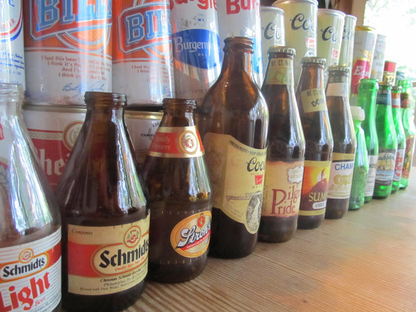 Beer Bottle Collection, Empty, opened, instant collection, brew