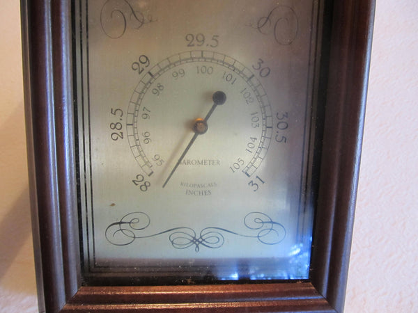 Barometer, Springfield, Antique Details, humidity, temperature, thermometer, home decor, wall hanging, man cave decor, weather