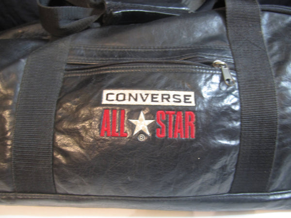Converse All Star Leather like Duffel Bag, Shoulder Bags, Hand Bag, Vintage Bags, 1980s, Travel Bags, Cool Bags