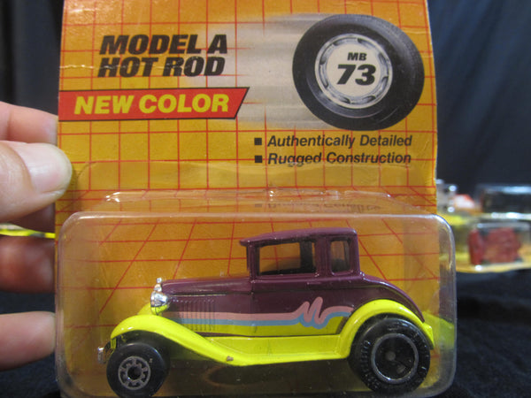 Model A Hot Rod, MB73, New Color! Matchbox Cars, Trucks, Vehicles, Diecast Cars, Car Models, FREE Shipping