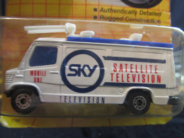 T.V News Truck, MB 68, Moving Parts, Satelite Television, Matchbox Cars, Trucks, Vehicles, Diecast Cars, Car Models, FREE Shipping