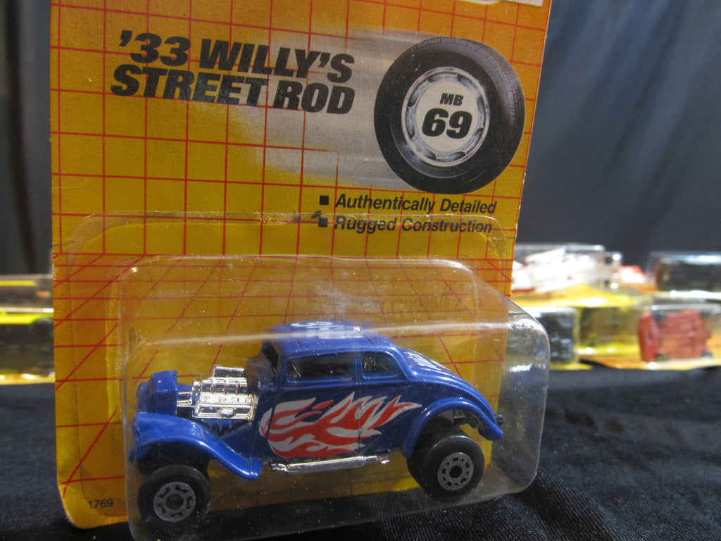 33 Willy's Street Rod, MB 69, Matchbox Cars, Trucks, Vehicles, Diecast Cars, Car Models, FREE Shipping