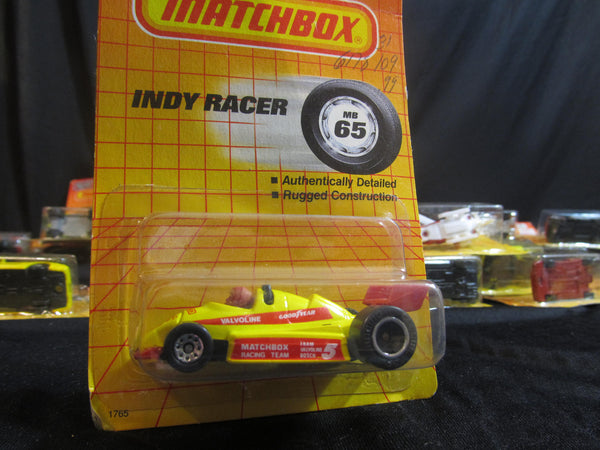 Indy Racer, MB 65, Racing Team, Matchbox Cars, Trucks, Vehicles, Diecast Cars, Car Models, FREE Shipping