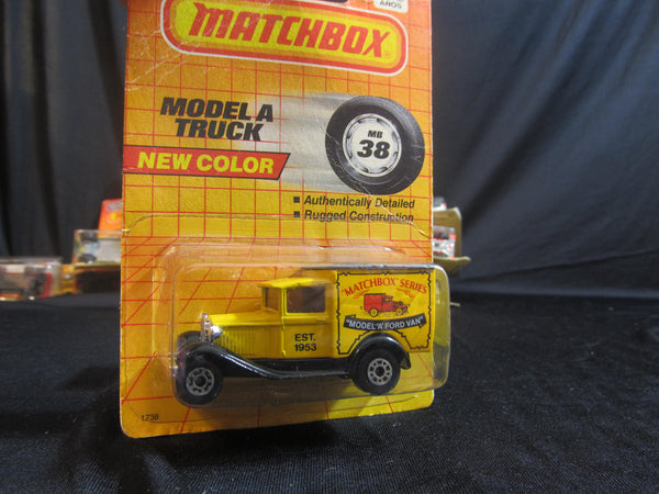 Model A Truck, MB 38, new Color! Matchbox Cars, Trucks, Vehicles, Diecast Cars, Car Models, FREE Shipping