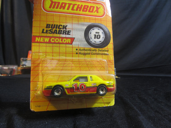 Buick LeSabre, MB 10, yellow and red race car, Matchbox Cars, Trucks, Vehicles, Diecast Cars, Car Models, FREE Shipping