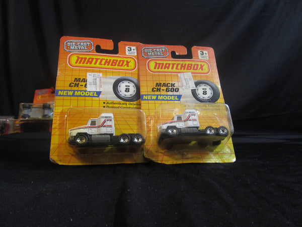 Mack CH-600, MB 8, Semi Truck, new model, Matchbox Cars, Trucks, Vehicles, Diecast Cars, Car Models, FREE Shipping