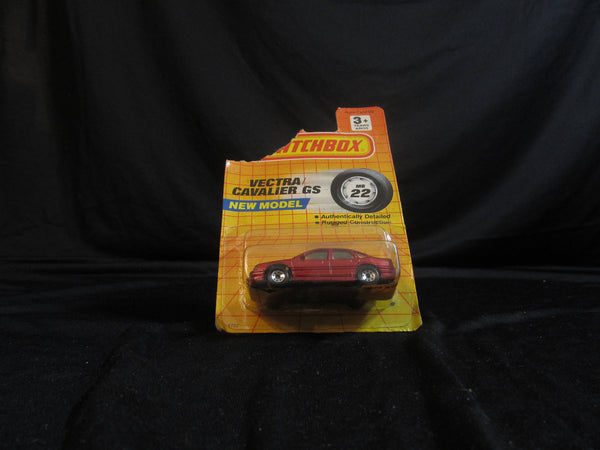 Vectra, Cavalier GS, MB 22, 4 door, Matchbox Cars, Trucks, Vehicles, Diecast Cars, Car Models, FREE Shipping
