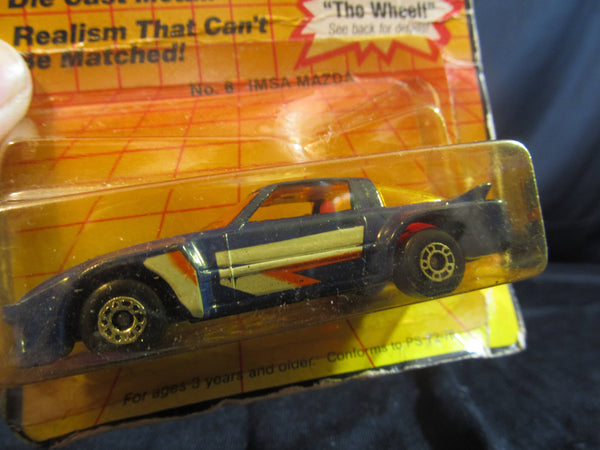 No 6 Imsa Mazda, c 1983, Matchbox Cars, Trucks, Vehicles, Diecast Cars, Car Models, FREE Shipping