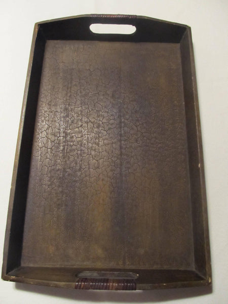 Wooden Vintage Serving Tray, Bar Decor, Food Trays, FREE SHIPPING