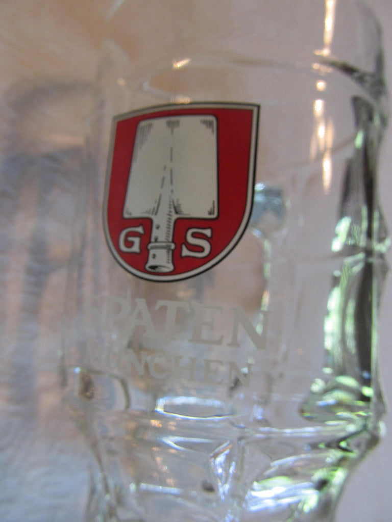 Spaten Munchen, G S Mug, Glass, Beer Mugs, Beer Gifts, Bar Glasses, Free shipping