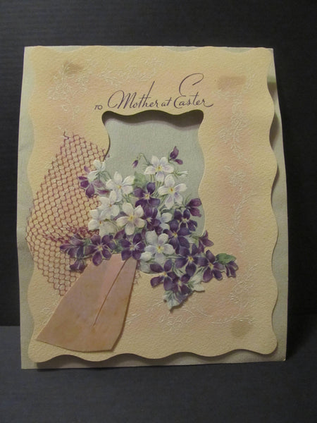 to Mother at Easter, Happy Easter, Card for Mom, Holiday Greeting Cards, Recycled Cards, Second Use, with Envelope, FREE Shipping