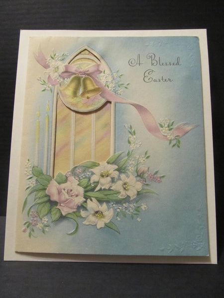 A Blessed Easter, Easter Holiday Greeting Cards, Recycled Cards, Second Use, with Envelope, FREE Shipping