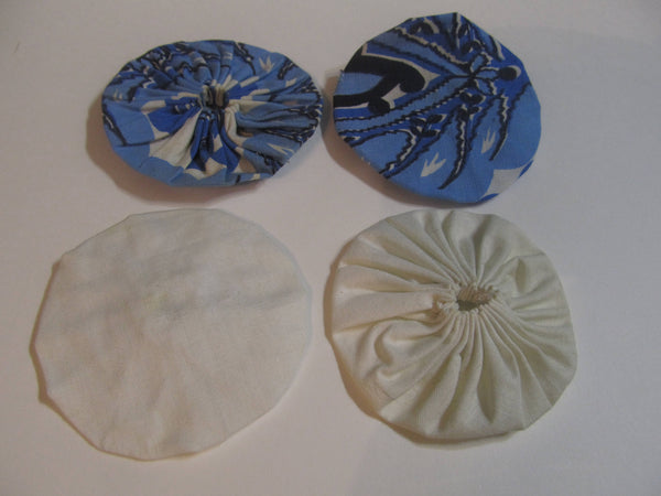 Attention Crafters, Fabric Circles, Embellishments, Trims, Crafting, Assemblage, Free Shipping