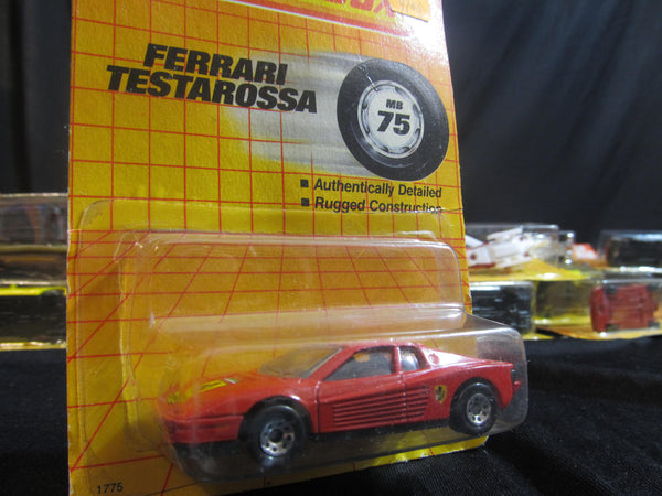 Ferrari Testarossa, MB 75, Exotic Cars, Matchbox Cars, Trucks, Vehicles, Diecast Cars, Car Models, FREE Shipping