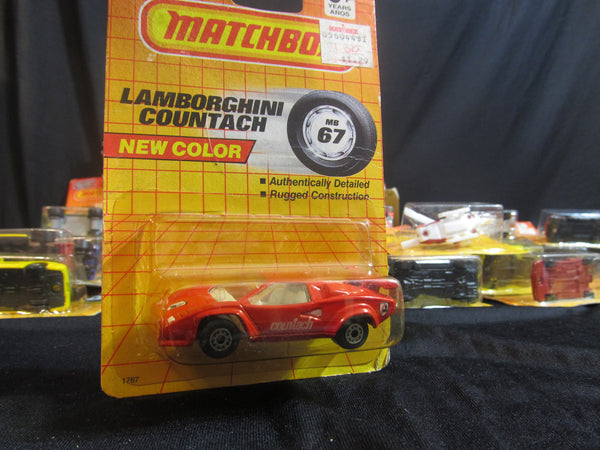 Lamborghini Countach, MB 67, Exotic Cars, Matchbox Cars, Trucks, Vehicles, Diecast Cars, Car Models, FREE Shipping