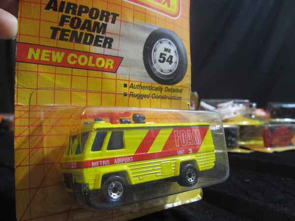 Airport Foam Tender, MB54, New Color, Matchbox Cars, Trucks, Vehicles, Diecast Cars, Car Models, FREE Shipping