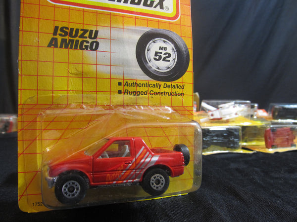 Isuzu Amigo, MB 52, new Color! Red and Blue, Matchbox Cars, Trucks, Vehicles, Diecast Cars, Car Models, FREE Shipping