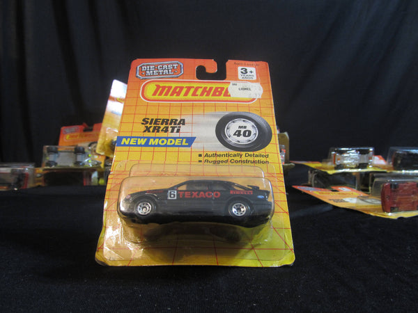Sierra XR4Ti, New Model, MB 40, Texaco, Race Car, Matchbox Cars, Trucks, Vehicles, Diecast Cars, Car Models, FREE Shipping