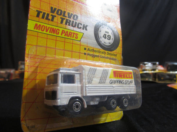 Volvo Tilt Truck, MB 49, Firelli, Gripping Stuff, Moving Parts, Matchbox Cars, Trucks, Vehicles, Diecast Cars, Car Models, FREE Shipping