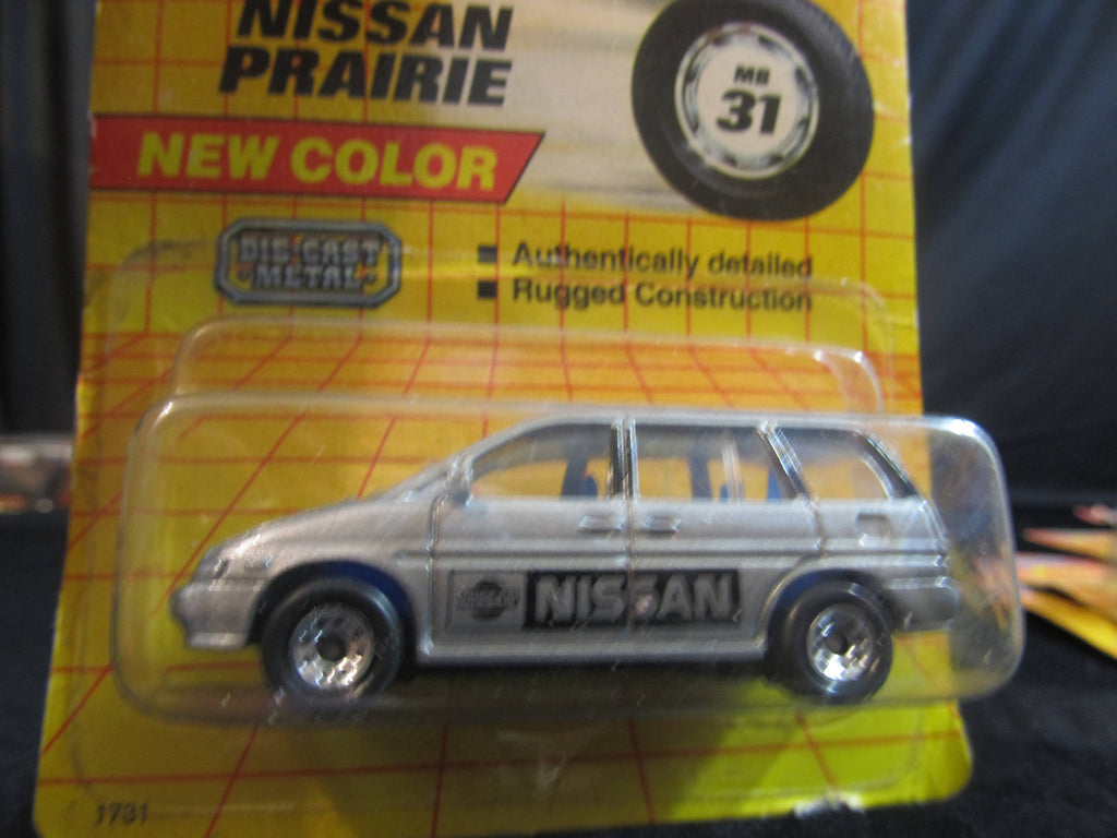 Nissan Prairie, MB 31, new color, silver suv, Matchbox Cars, Trucks, Vehicles, Diecast Cars, Car Models, FREE Shipping