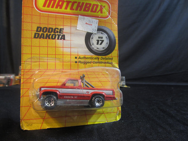 Dodge Dakota, MB 17, 4x4 trucks, Matchbox Cars, Trucks, Vehicles, Diecast Cars, Car Models, FREE Shipping