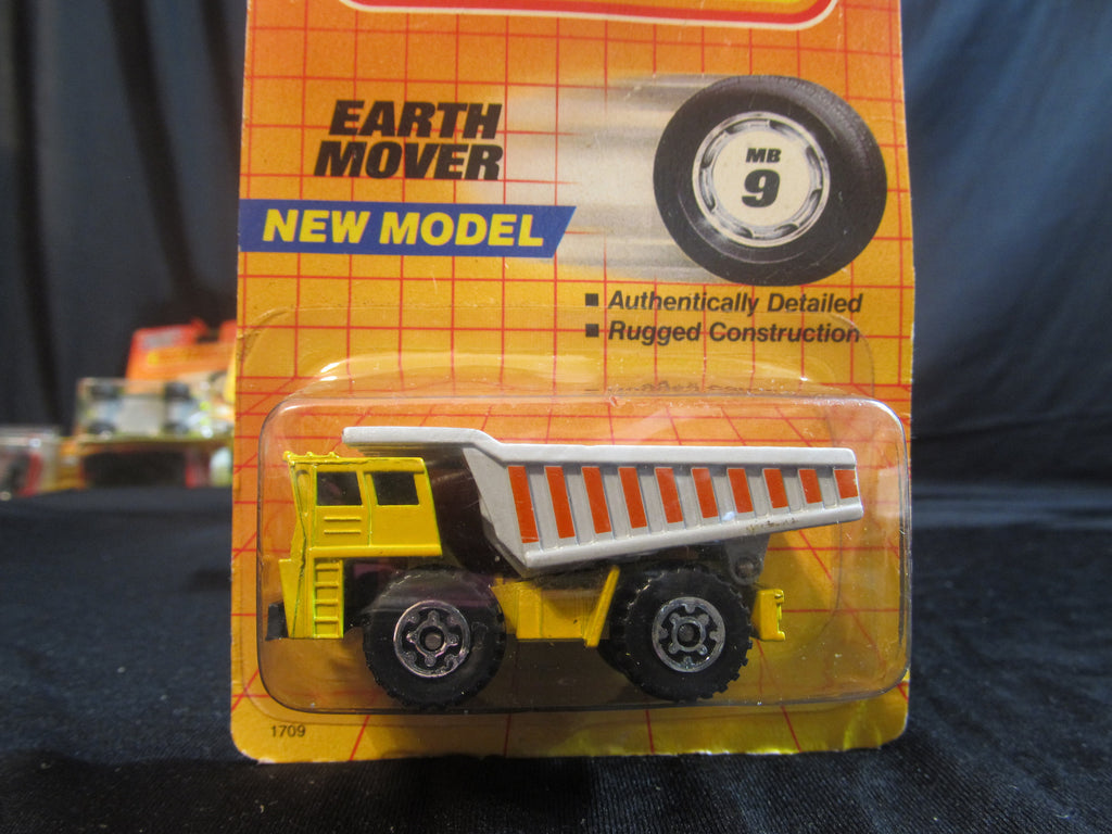 Earth Mover, MB 9, new model, Heavy Equipment, Tonka Trucks, Matchbox Cars, Trucks, Vehicles, Diecast Cars, Car Models, FREE Shipping