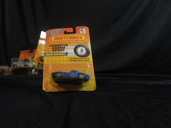 Chevrolet Corvette Grand Sport, MB 2, new model! Matchbox Cars, Trucks, Vehicles, Diecast Cars, Car Models, FREE Shipping