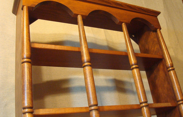 Wooden Wall Hanging Shelf, vintage home decor, shelving