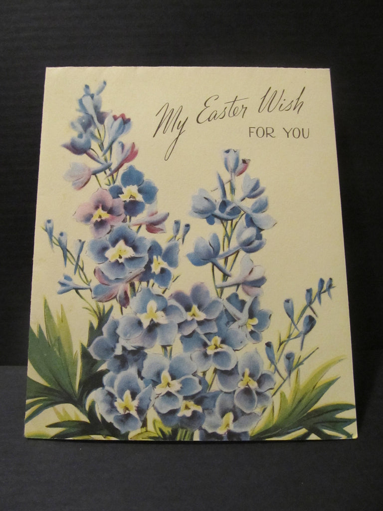 My Easter Wish for You, Eastertime, Easter Greeting Cards, Recycled Cards, Second Use, with Envelope, FREE Shipping