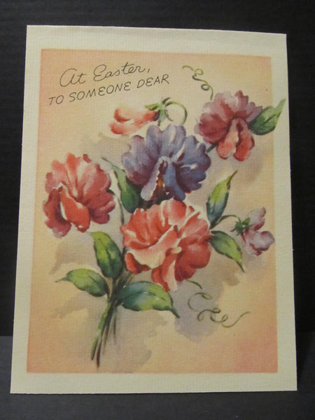 at Easter to someone dear, Easter Greeting Cards, Recycled Cards, Second Use, with Envelope, FREE Shipping