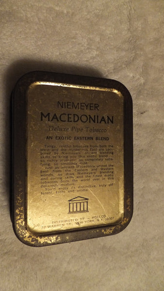 NIEMEYER MACEDONIAN - Exotic Eastern Blend - Deluxe Pipe Tobacco, free shipping