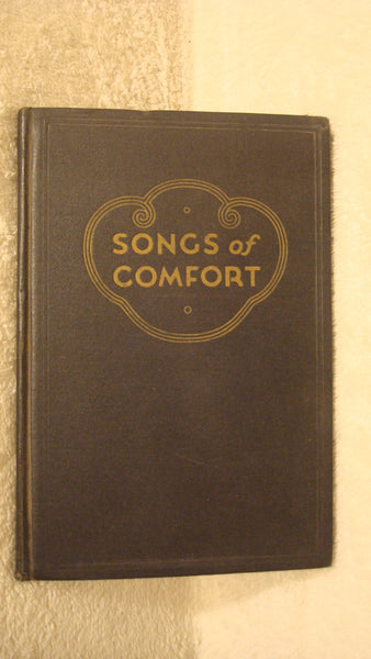 1938 Songs of Comfort - Vintage Book - Music