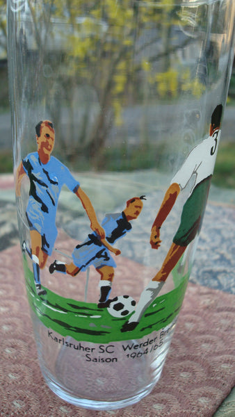 1964/65 Soccor, Soccer, Sports Drinkware, Vintage Kitchen, Serving, Cups