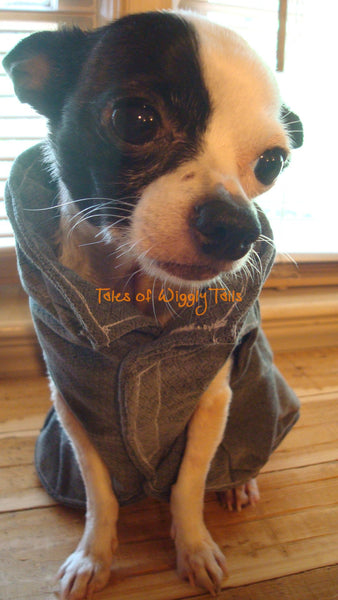 Small Dog Jacket - Cape - Patchwork Clothing - Chihuahua