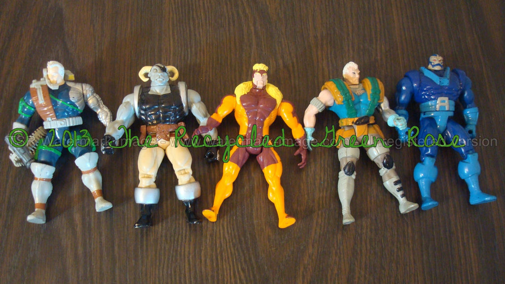 Marvel Vintage Figurines - Toys - Cartoon Characters - Comic Book Characters - LOT OF FIVE, Free Shipping