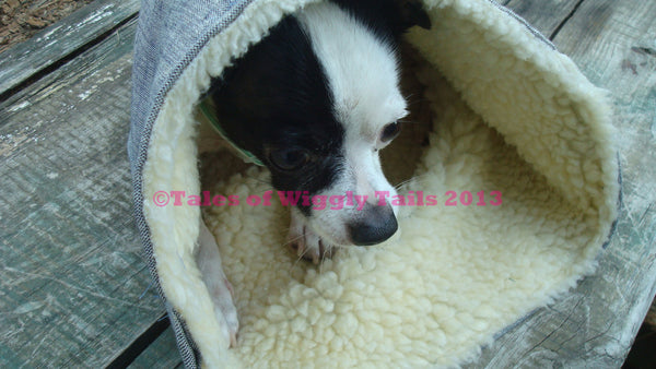 Little Small Tiny Animal Pet Pocket Bed - Soft