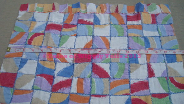 Patchwork Feeding Placemat - Messy Eaters  Easy Cleanup - OOAK FREE SHIPPING Dogs Cats Pets