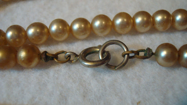 Pearl Necklace - Vintage Jewelry