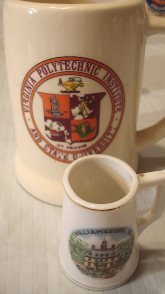 6 STATE MUGS - VIRGINIA - Instant Vintage Mug Collection