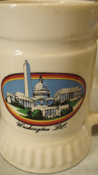 3 STATE Mugs - DC Vintage Mugs - Instant Collection - Washington, DC, Nations Capital