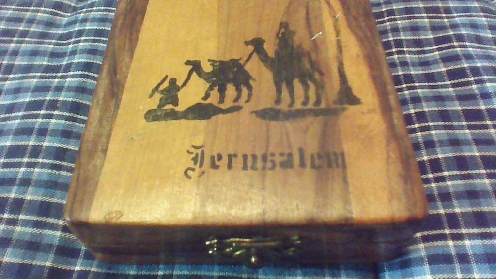 Jerusalem Jordan Wooden Box, Trinket Storage, Stash Box, Wooden Stash Box, Jewelry Box, Trinket Box, FREE Shipping!