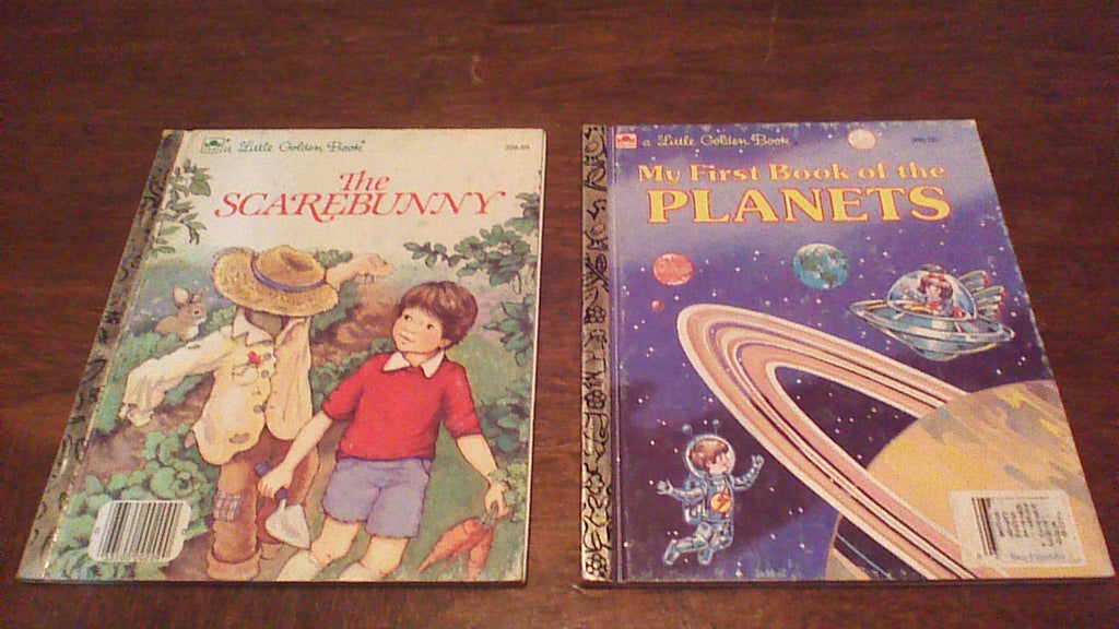 Golden Books, Lot of TWO, Children's Books